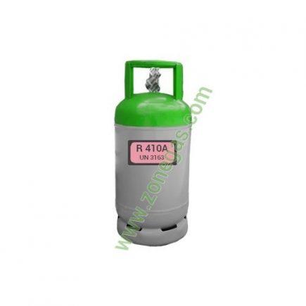 Gas refrigerante 11 KG R 410A ZONEGAS FRANCIA