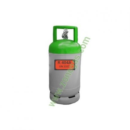 GAS REFRIGERANTE 12 KG R 404A ZONEGAS FRANCIA
